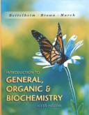 Introduction to general, organic &  biochemistry.