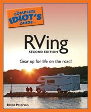 The Complete Idiot's Guide to RVing, 2nd Edition [Paperback] by Peterson, Brent