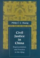 Download Civil justice in China, representation and practice in the Qing