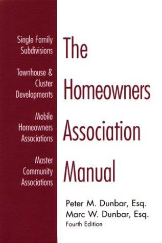 Download The homeowners association manual
