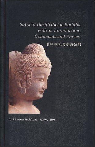 Image for Sutra of the Medicine Buddha with and Introduction, Comments and Prayers