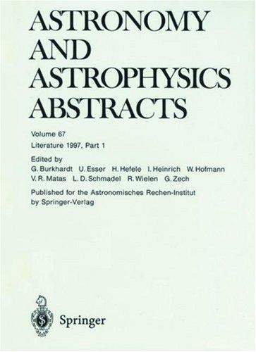 Download Astronomy and Astrophysics Abstracts
