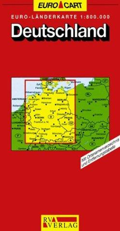 Download Germany Map (GeoCenter Euro Map)