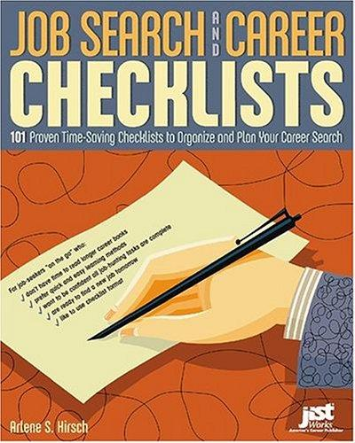 Download Job Search And Career Checklists