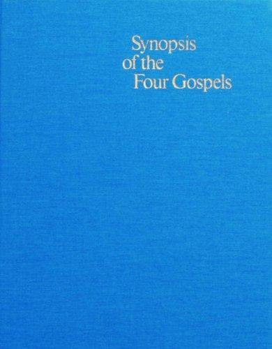 Download Synopsis of the Four Gospels