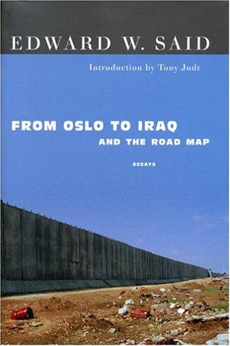 Download From Oslo to Iraq and the road map