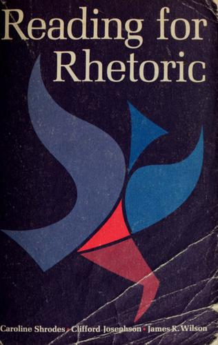 Download Reading for rhetoric