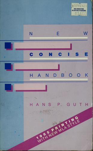 Download New concise handbook