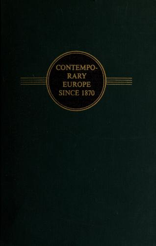 Download Contemporary Europe since 1870.