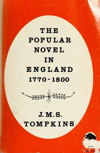 The popular novel in England, 1770-1800.