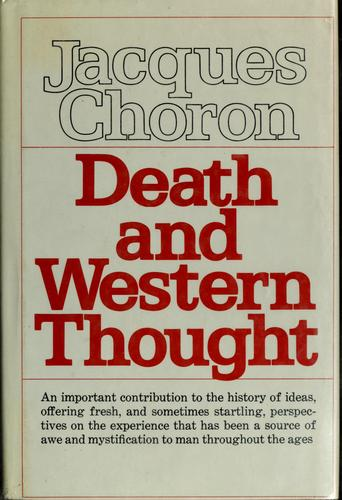 Death and Western thought.