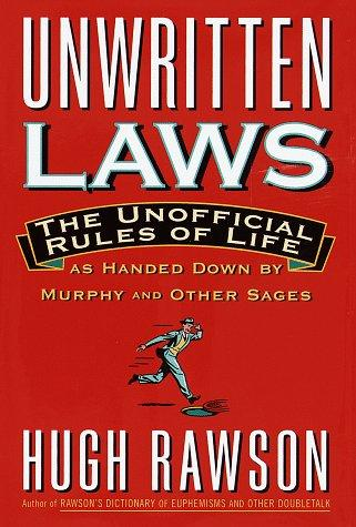 Unwritten laws