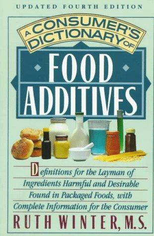 Download A consumer's dictionary of food additives