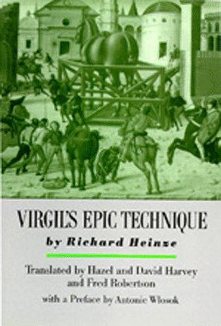 Download Virgil's epic technique