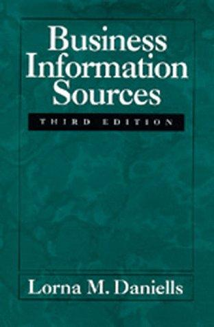 Download Business information sources