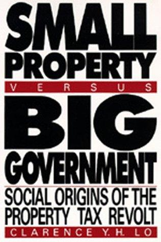 Download Small Property versus Big Government