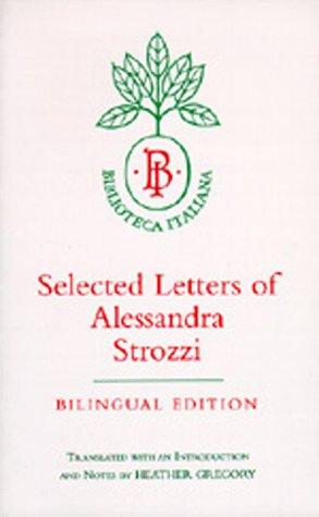 Download Selected letters of Alessandra Strozzi