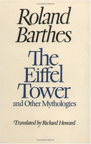 The Eiffel Tower, and other mythologies