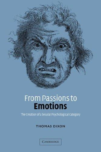 Download From Passions to Emotions