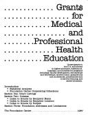 Download Grants for Medical and Professional Health Education