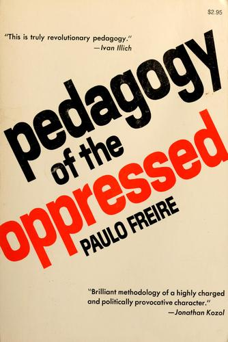Download Pedagogy of the oppressed
