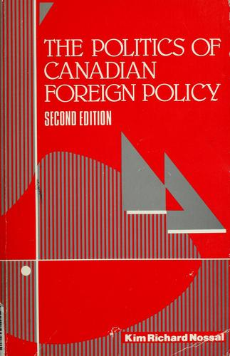 The politics of Canadian foreign policy