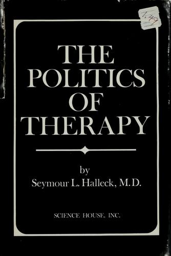 Download The politics of therapy