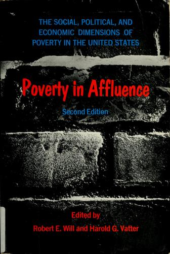 Poverty in affluence