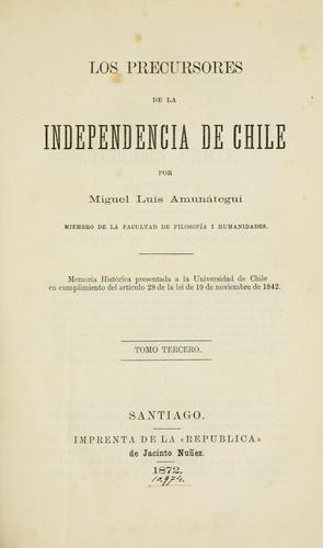 Download Los precursores de la independencia de Chile