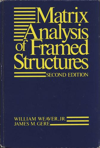Matrix Analysis of Framed Structures