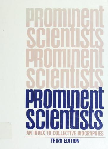Prominent scientists