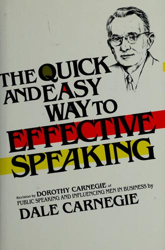 Download The quick and easy way to effective speaking.