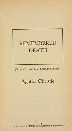 Remembered death.