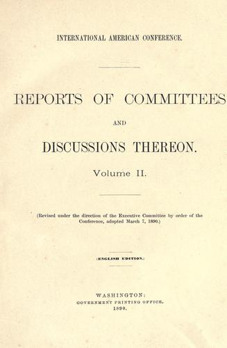 Download Reports of committees and discussions thereon.