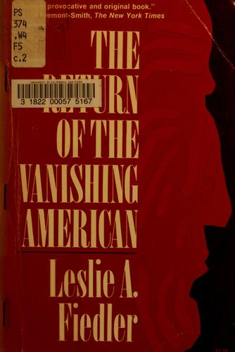 The Return of the vanishing American