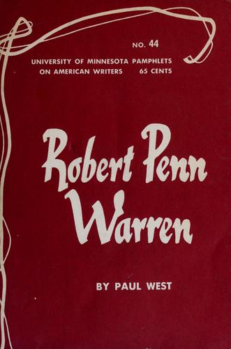 Download Robert Penn Warren.