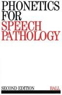 Download Phonetics for Speech Pathology