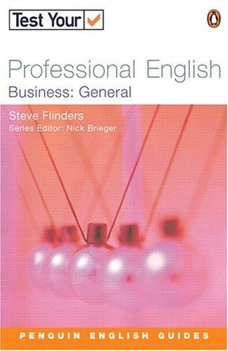 Test Your Professional English - Bus General (Test Your Professional English) by BRIEGEN