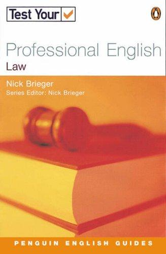 Test Your Professional English by Nick Brieger