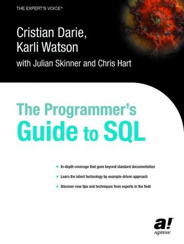 The programmer's guide to SQL by