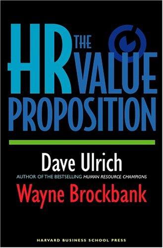 Image 0 of The HR Value Proposition