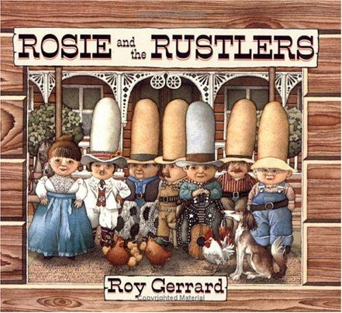 Rosie and the Rustlers (Sunburst Book) by Roy Gerrard