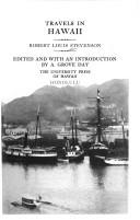 Travels in Hawaii by Robert Louis Stevenson