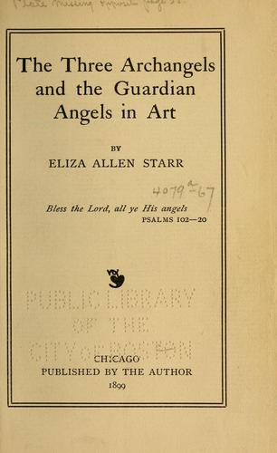 The Three Archangels and the guardian angels in art by Eliza Allen Starr