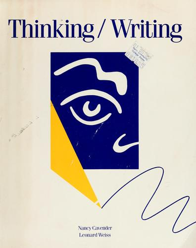 Thinking/writing by Nancy Cavender