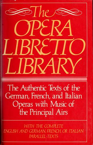 Opera Libretto Library by RH Value Publishing