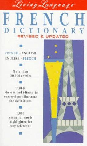 Living language French dictionary by Liliane Lazar