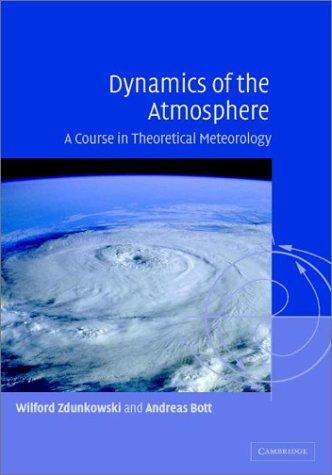 Dynamics of the atmosphere by
