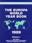 Europa World Year Book 1999 by 40th Ed