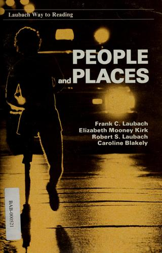 People and places by Frank C. Laubach